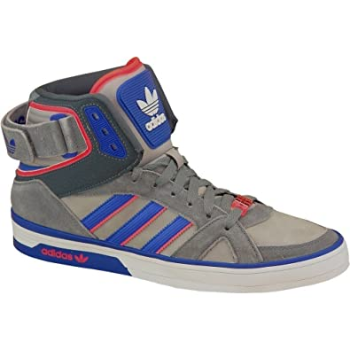 Adidas SPACE DIVER Chaussures Mode Sneakers Homme Cuir Gris Bleu Adidas T:40