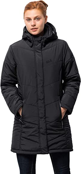 Jack Wolfskin Women's Iceguard Coat Medium Black for sale