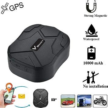 Winnes Localizador GPS Coche, 150 días en espera localizador GPS ...