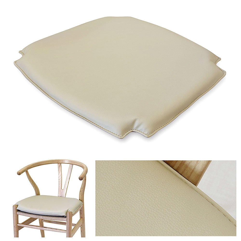 Amazon.com: Wishbone CH24 y silla estilo pu (Piel Sintética ...