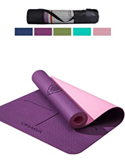 62541e58c YAWHO Yoga Mat Eco Friendly Material SGS Certified Ingredients TPE  Specifications 183 cm X…