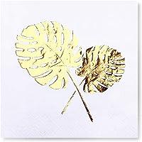 Story Altın Varak Yaprak 16'lı Beyaz Peçete