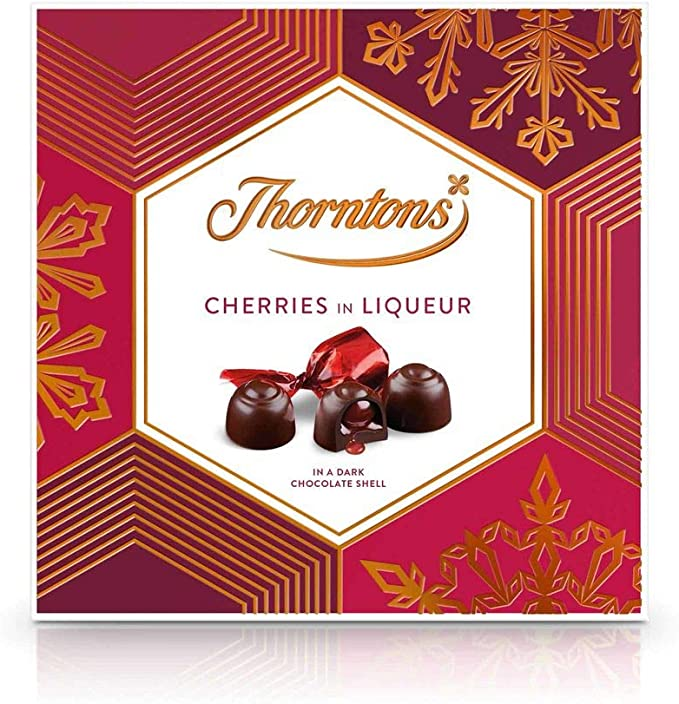 Thorntons Chocolate Christmas Gift Boxes Cherries In Liqueur