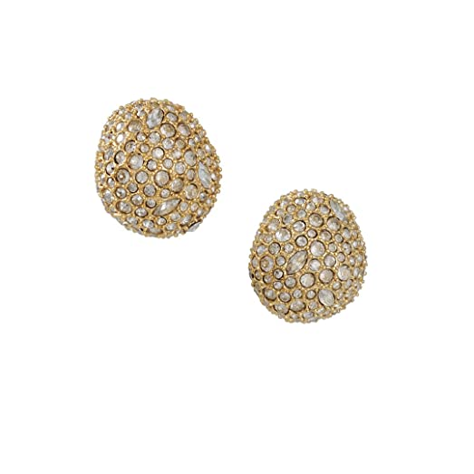 Alexis Bittar Crystal Encrusted Organic Pod Post Earring 11qdC