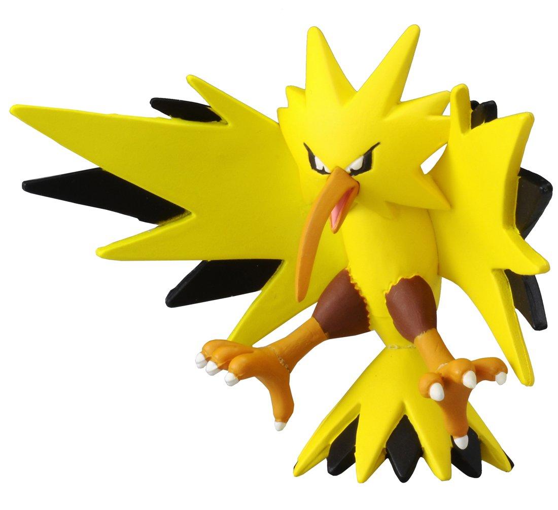 amazon com takaratomy official pokemon x and y mc 051 2 zapdos