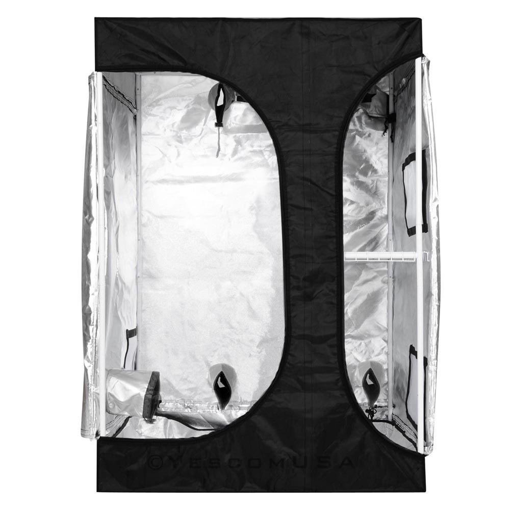 Amazon.com  2-in-1 100% Reflective Mylar Hydroponics Indoor Grow Tent Propagation and Flower  Garden u0026 Outdoor  sc 1 st  Amazon.com & Amazon.com : 2-in-1 100% Reflective Mylar Hydroponics Indoor Grow ...