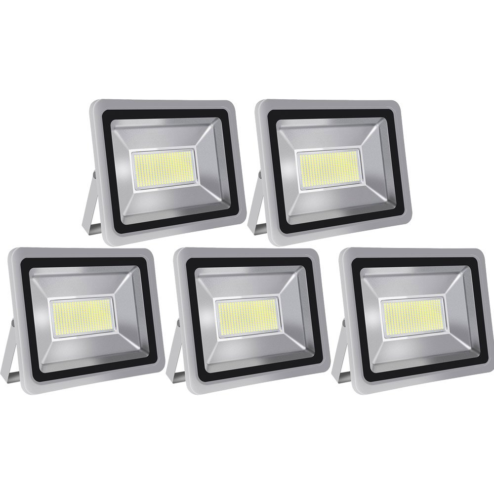 Led Floodlight,Led Exterior Flood Lights,Led spotlights Getseason 5 200W Daylight White Outdoor and Indoor IP65 Waterproof Security Light for Garage, Garden, Lawn and Yard