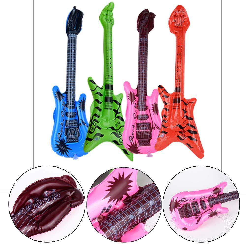 MEJOSER Pack de 15pcs Guitarra Inflable Instrumentos ...