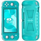 Protective Case for Nintendo Switch Lite 2019 ,Grip Cover Case with Shock-Absorption and Anti-Scratch Design TPU Case (Turquo