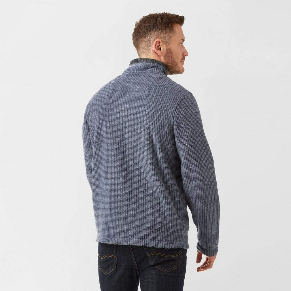 Weird Fish Men/Â/€/Â/™s Newark /Ã/' Zip Grid Fleece Sweatshirt