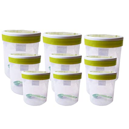 Buy Greenviji Plastic Kitchen Storage Box Container Set Idle For