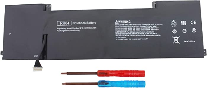 Gomarty RR04 Battery Compatible with HP Omen 15 15-5001NA 15-5001NS 15-5012TX 15-5014TX 15-5016TX 15-5113TX 15-5114TX 15-5116TX 15-5208TX 15-5209TX 778951-421 778978-005 778978-006 RR04XL
