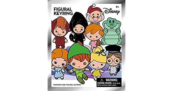Amazon.com: Disney Peter Pan 3d llavero coleccionable Ciegos ...