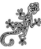トカゲのタトゥーシール トライバルリザード #5