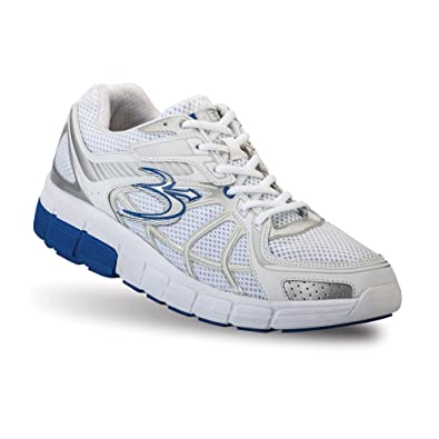 Gravity Defyer Men's G-Defy Super Walk Blue White Athletic Shoes 8 M US  Shock
