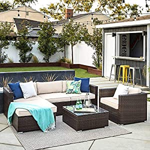 61h4jVYLlrL._SS300_ Wicker Patio Furniture Sets