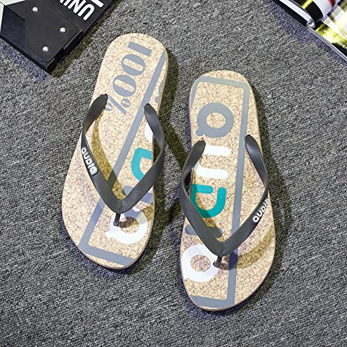 Slippers Students Gray Foot Soft and Male Trend Wear Fashion Summer That 42 The Slip Slippers Beach Non Drag fankou and Cool The Grip xwA6aRqaB
