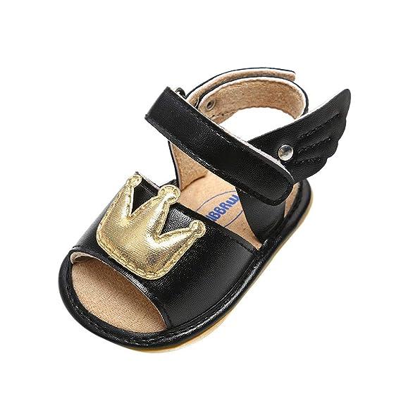 Berimaterry Zapatos de bebé Sandalias Niño Recién Nacido Suave único ...