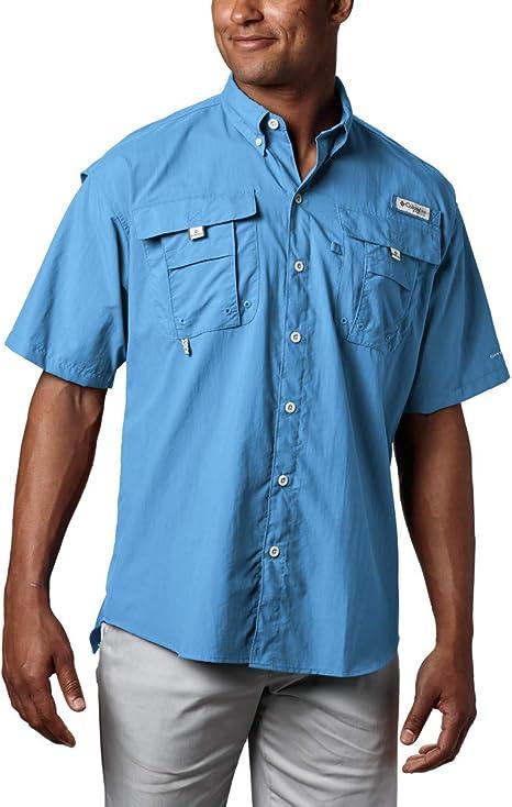 Columbia Bahama II Camisa de Manga Corta para Hombre Bahama II, Hombre, Color White Cap, tamaño Extra-Large: Amazon.es: Deportes y aire libre