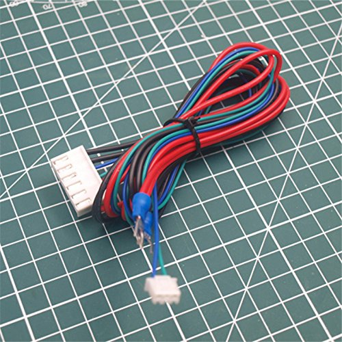 WillBest 1PCS Replace ANET A6/A8 Hotbed line/Cable Upgraded MK3 Heated Bed for Mendel RepRap i3 ANET A8 3D Printer Heated Bed ()