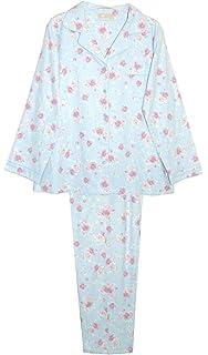 e89eb54436 La Cera Women s Maiko Doll Flannel Pajamas - Cute PJs at Amazon ...