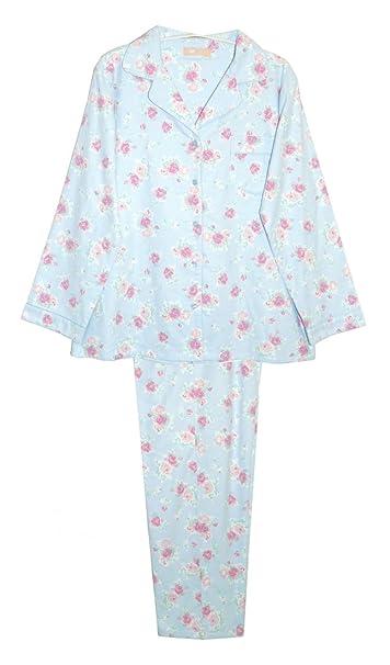 217af44640 La Cera Women s Flannel PJ Set Plus Size at Amazon Women s Clothing ...