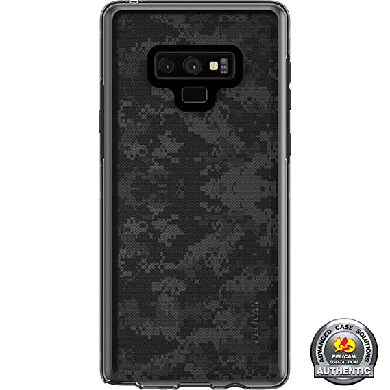 innovative design 07f47 3f060 Limited Edition Customized Prints by Ego Tactical Over a Pelican Adventurer  Case for Samsung Galaxy Note 9 - Black Ops Subdued Digital Camouflage