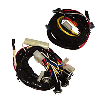 ford wiring harnesses amazon com c5nn14n104r new ford tractor 2 piece wiring harness ford wiring harness repair ford tractor 2 piece wiring harness