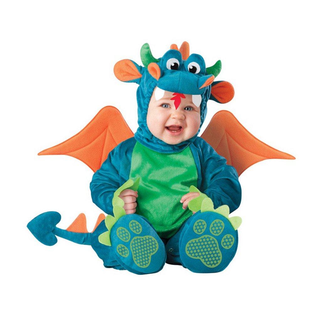 696748eccd9 PerGrate perg Transferencia Navidad Halloween Infant Baby Jumpsuit Animales  para Ropa Disfraz Dressing Baby Boy,