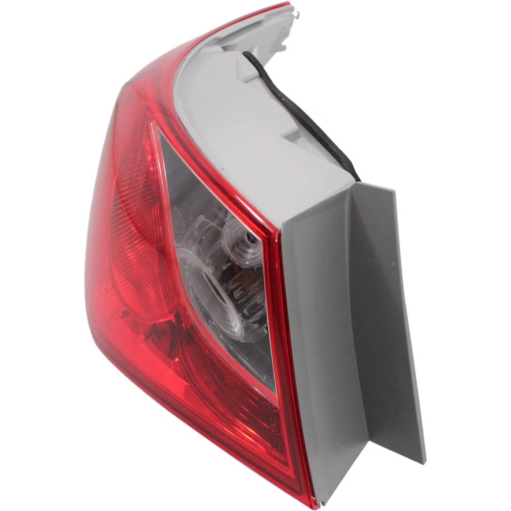 Tail Light for SONATA 11-14 Left Side Outer Assembly Bulb Type
