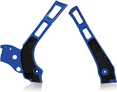 14-16 YAMAHA YZ250F Blue//Black Acerbis X-Grip Frame Guard