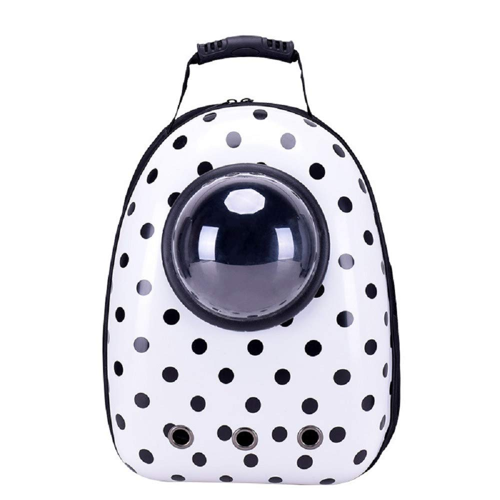 D Pet Carrier Backpack AntiEscape Cat Carrier Backpack Dog Travel Carriers Space Capsule Bubble Backpack Carriers for Small Dogs