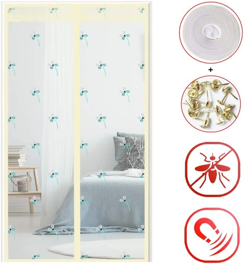 Velcro Insect Screen Screen Fly, 130x220cm 51