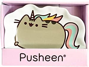 """Enesco Pusheen by Our Name is Mud """"Pusheenicorn"""" Stoneware Dish, Multicolor, 4.5 Inches Trinket Tray"""
