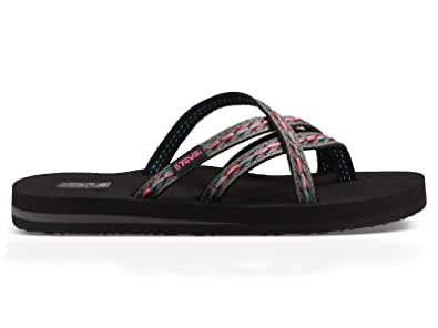 8bc9fb9fed3a08 Image Unavailable. Image not available for. Color  Teva Women s Olowahu  Flip Flop Sandal (6 ...