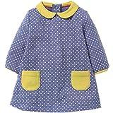 Kids Baby Girls'Pure Cotton Polka Dots Full Sleeve Dress Autumn 2-7 years