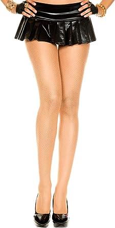Music Legs Classic Seamless Black Fishnet Pantyhose Plus Size 9001Q