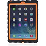 Apple iPad Air 1st Generation Drop Tech Orange Gumdrop Cases Silicone Rugged Shock Absorbing Protective Dual Layer Cover Case