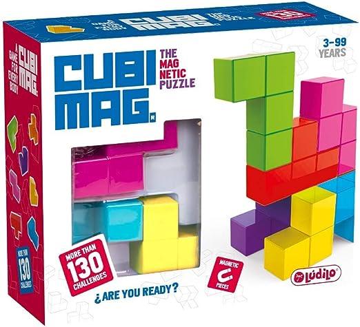 Lúdilo infantiles, niños, Puzzles 3D, Juegos magnéticos de viaje, Juguetes educativos, multicolor (CUBIMAGes un increíble rompecabezas ma) , color/modelo surtido: Amazon.es: Juguetes y juegos