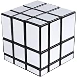 Popsugar Qiyi Mirror 3x3x3 Silver Sticker Magic Cube