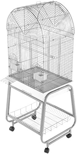 Open Dome Top Cage with Removable Stand