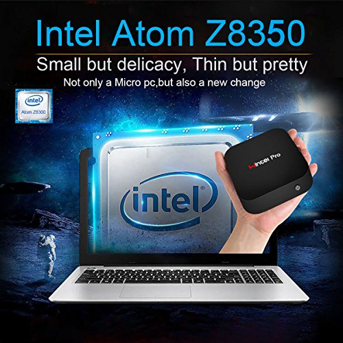 Mini PC,Wintel Pro Intel Cherry Trail Fanless Desktop Computer Windows 10 Home (64-bit) [Intel X5-Z8350/2GB/32GB/4K/Wi-Fi/Bluetooth] by NEXBOX (Image #3)