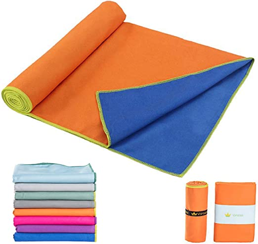 Backpacker Basics Microfiber Travel Towel Ultra Compact Absorbent and Fast Drying