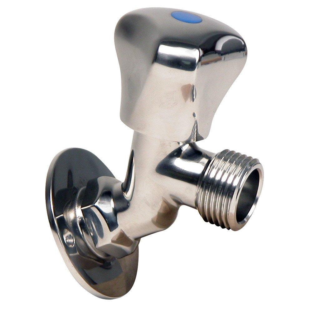 Whitecap S.S. Faucet 2-3/16'' Base 3-3/16'' Depth