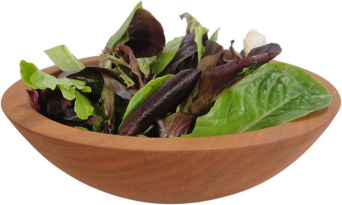 Magnificent Set of Solid Cherry Salad Bowls