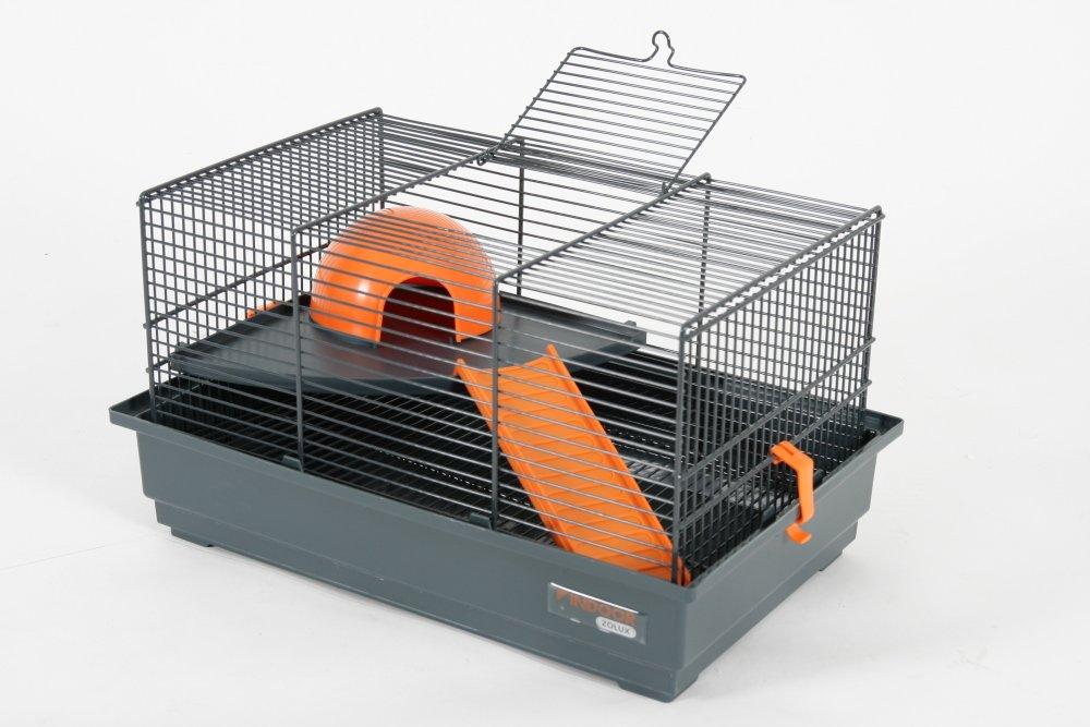 Zolux Indoor Jaula para ratón/hámster Naranja 40 x 25,5 x 21,5 cm ...