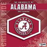 Cal 2017 Alabama Crimson Tide 2017 12x12 Team Wall Calendar
