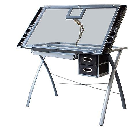 xgfhz XGF® Mesas De Dibujo para Pinturas y Manualidades, Plegable ...