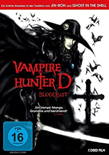 Amazon.com: Vampire Hunter D: Kaneto Shiozawa, Michael ...