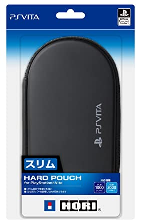 Amazon.com: New hard pouch for PlayStationVita BLACK: Video ...